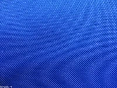 WATERPROOF HEAVY ROYAL BLUE CANVAS FABRIC -1000D PU BACK x 15 MTR