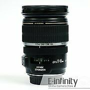 BRAND NEW Canon EF-S 17-55mm f2.8 IS USM Zoom Lens for EOS DSLR EXPRESS