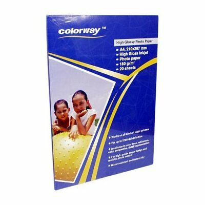 Colorway Glossy Photo Paper A4 180g - 40 Sheets
