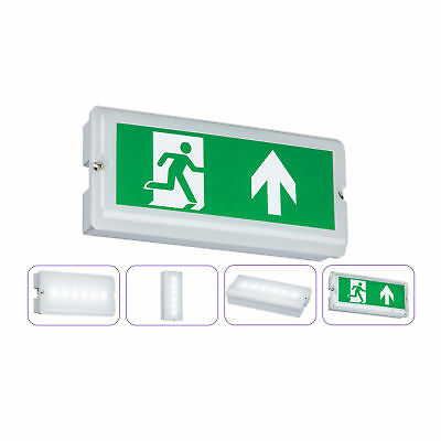 Knightsbridge LED 3W IP65 Emergency Bulkhead Interior Non Maintained Light 5500k