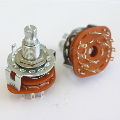 5 way Position Rotary Switch For Varitone Style Circuits. Guitar or Bass E68
