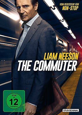 DVD * THE COMMUTER - Liam Neeson # NEU OVP /