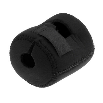 Trolling Drum Reel Bag Wheel Protective Case Fishing Reel Pouch Cover Black