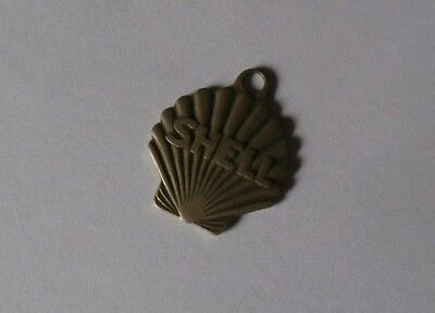* Vintage Shell Oil Company Finder Keychain NYC *