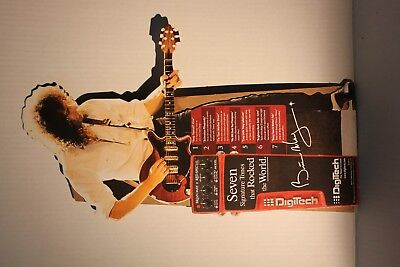 """Brian May Red Special Digitech Table top display 17"""" Tall"""