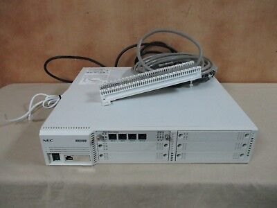 Nec Univerge Ux 5000 Sn1759 Voip Phone System Phone System Voice Over Ip System