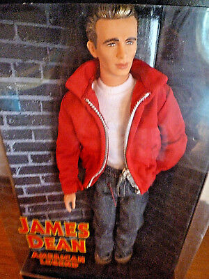 Vintage James Dean Doll with certhificate of authenticity Collector Item