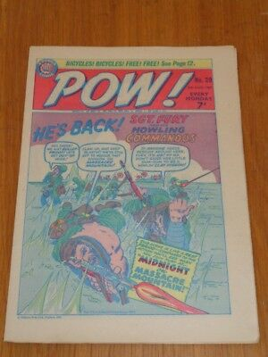 Pow #29 5Th August 1967 Odhams British Weekly Comic Spiderman *