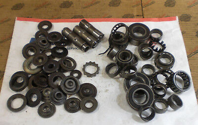 LOT of 4 lbs Harley VALVE SPRING COLLARS, CAGE BEARINGS, LIFTERS, ETC...