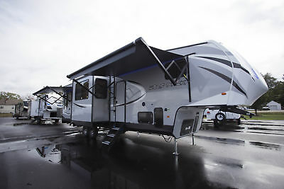 Wolf Pack 325PACK13 Fifth Wheel Toy Hauler Camper RV Free Credit Approval