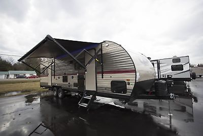 Grey Wolf 27RR Travel Trailer RV Camper Dealer Discounts Shipping Available