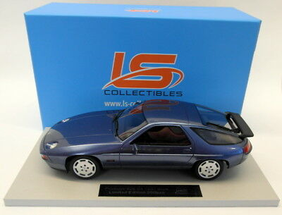 LS Collectibles 1/18 Scale resin -  LS022A Porsche 928 S4 1987 Blue Metallic