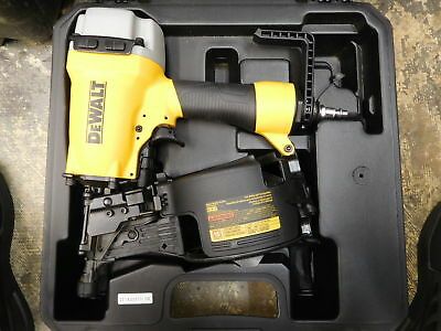 Dewalt - Dw66C-1 - Pneumatic 15 Degree Coil Siding And Fencing Nailer Air Tool