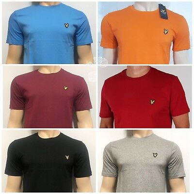 Lyle and Scott Slim Fit Short Sleeve Crew Neck T- Shirt for Men's