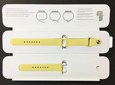 Genuine Apple Watch Sport Band MPUY2AM/A - 42mm (Pollen) Stainless Steel Pin