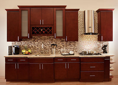 Amazing 90 Villa Cherry Wood Kitchen Cabinets Cherry Stained Maple Complete Home Design Collection Barbaintelli Responsecom