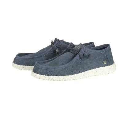Scarpe Hey Dude Wally Perforated Colore Denim US18170R