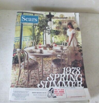 1978 Sears Spring/summer Vintage Department Store Catalog - 1428 Pages