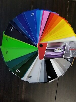 Oracal 970RA & 975RA Vehicle Car Wrap Vinyl Color Chart Guide Booklet.