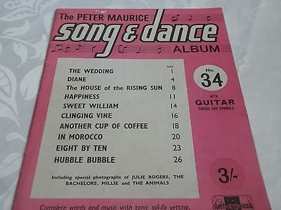 The Peter Maurice Song Dance Music Book No34 With Guitar Chords