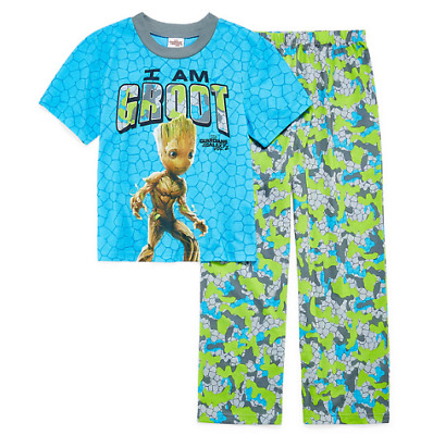 Guardians of the Galaxy I am Groot 2-Piece Pajama Set for Boys Size 10