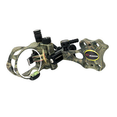 Micro Adjust 5 Pin .019'' Hunting Archery Compound Bow Sight Right Hand Camo