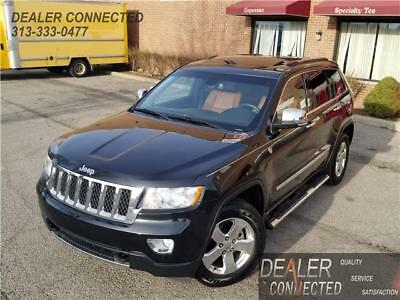 Grand Cherokee Overland 2012 Jeep Grand Cherokee Overland w/ 72,950 Miles & Warranty