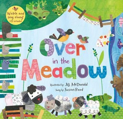 Over in the Meadow PB W CDEX by Jill McDonald   Paperback Book   9781846867477  