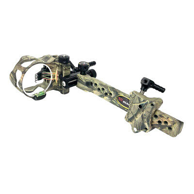 Micro Adjust 5 Pin .019'' Archery Compound Bow Sight for Left & Right Hand