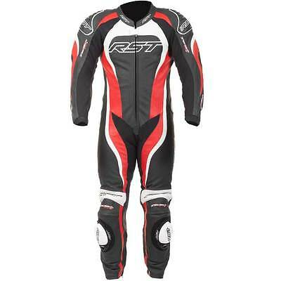 RST Tractech Evo II 2 Red Leather One 1 Piece Motorcycle Suit All Sizes
