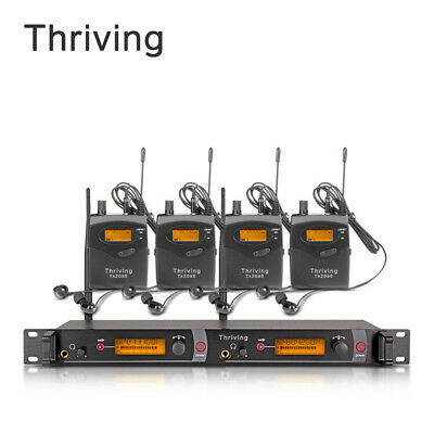 UHF Wireless In Ear Monitor System Professional SR2050 Type MONO 4 Receiver
