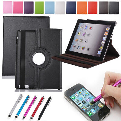 Smart 360° Rotating Leather Case Cover For Apple iPad 5 6 Air 2 3 4 Mini Flip