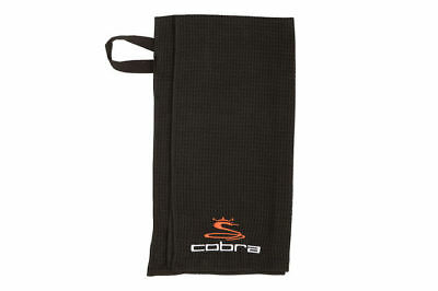 "Cobra Microfiber Golf Towel Black 36"" x 18"""
