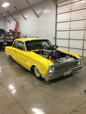 1962 Ford FALCON  1962 FORD FALCON PRO STREET WITH BLOWER MOTOR