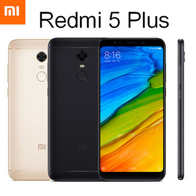 "Xiaomi Redmi 5 Plus Smartphone 5.99"" Octa Core Android 32GB/64GB Dual SIM Global"