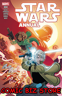Star Wars Annual #4 (2018) 1St Printing Bagged & Boarded Marvel Comics
