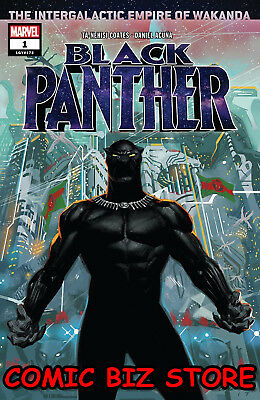 Black Panther #1 (2018) 1St Printing Bagged & Boarded Marvel Comics ($4.99)