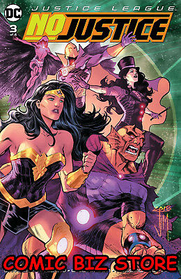 Justice League No Justice #3 (Of 4) (2018) 1St Printing Dc Universe Rebirth