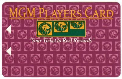 MGM GRAND casino*Reel Rewards 2 ARROWS * las vegas*BLANK*Slot/Players card