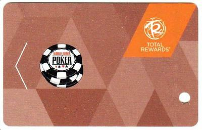 RIO casino*World series of poker  Blank unused*LasVegas Slot/Players card