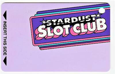 STARDUST casino*Stardust Slot Club*UN-USED never swiped* LV Slot/Players card
