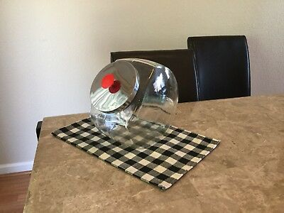 Vintage General Store Counter Display Large Glass Candy Jar