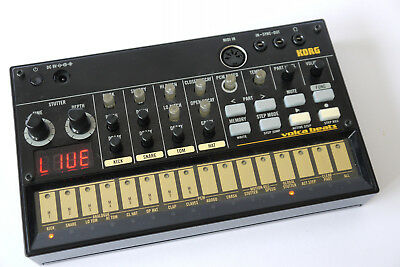 Korg Volca Beats, wie neu OVP, analoge Drum-Machine, Groovebox