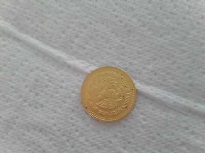 2017 Mexican Libertad 1/4 oz .999 Gold Round Bullion BU Coin - ONLY 500 mintage
