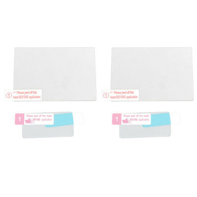 2x 0.33mm 9H Self-Adhesive Optical Glass LCD Screen Protector for Nikon D850
