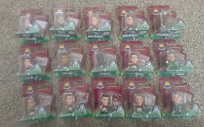 SOCCERSTARZ WEST HAM UNITED PLAYERS GREEN BASE SEALED IN BLISTER PACK x15