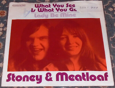 "Stoney & Meatloaf : What you see is what you get,Rare Earth,7"",im Bildcover"