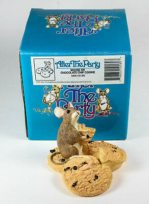 1994 After the Party,  2 different mice figures with boxes