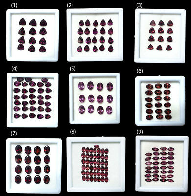 Natural Untreated Rhodolite Garnet Gems Wholesale ~Many shapes & size available