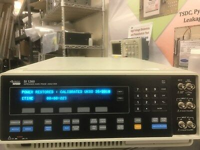 Solartron 1260 Impedance Analyzer